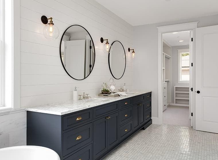 10 vackra färger för badrumsfärg för din nästa renovering    WOW .