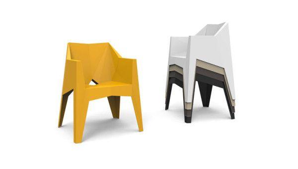 En fasetterad stapelstol av Karim Rashid |  Stol, möbler, Desi