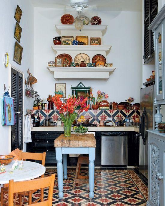 32 lysande hackar för att få ett litet kök att se större ut  Bohemiska.