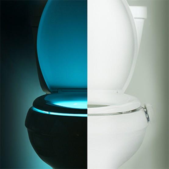 Illumibowl toalettstolslampor i olika färger - DigsDi