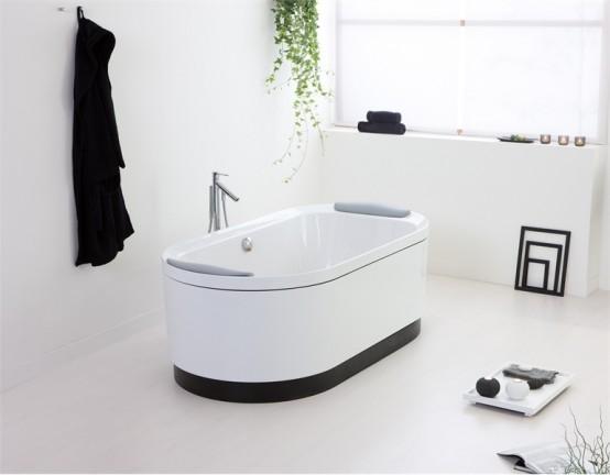 Modernt badrumsset med Natural Touch - SensareMare från.