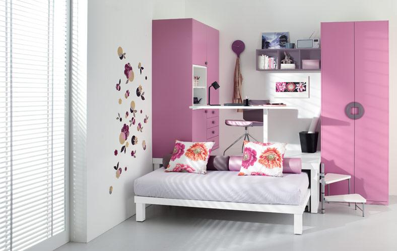 Färgglada Teenage Loft sovrum av Tumidei Digsdigs, Teen Loft.
