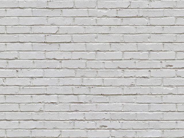 Sömlös vit tegelväggstruktur + (kartor) |  texturise |  Tegelsten.