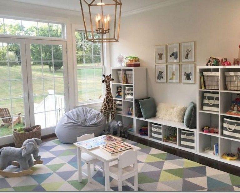 54+ förtjusande idéer för dekoration i källarlekrummet (med bilder.