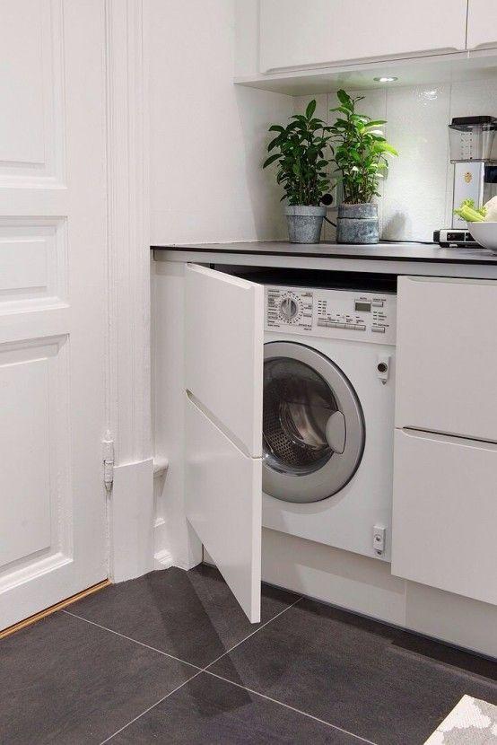 23 kreativa sätt att dölja en tvättmaskin i ditt hem |  Tvätt.