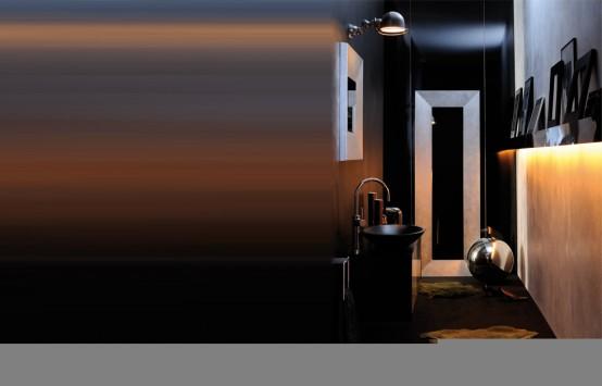 Sensuell lyxiga badrumsmöbler av Pom d '