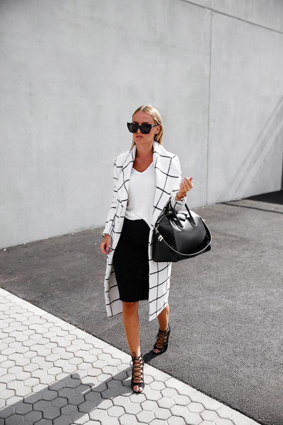 svarta snörskor svart vit elegant