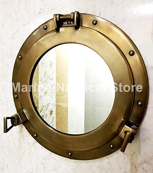 """Amazon.com: Spegelventilfönster Aluminiumventil 15 """"vägg."""