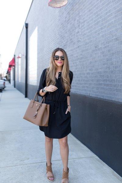 Boho sandals skjortklänning