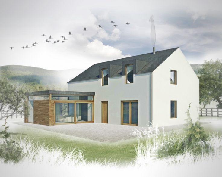 Bildresultat för liten modern lantlig husdesign Irland |  Hus.