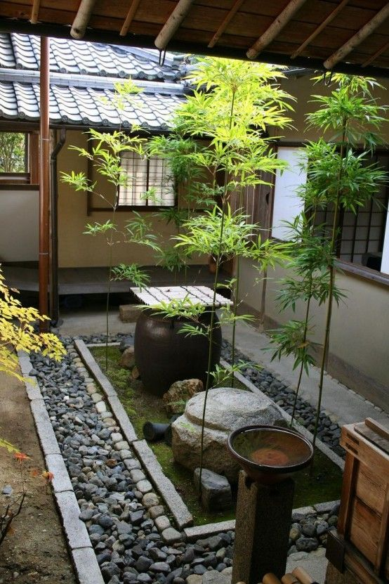 45 lugna japanskinspirerade gårdsidéer |  Идеи устройства.