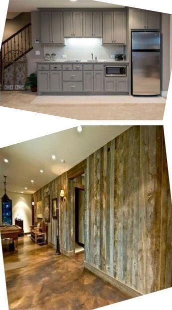Idéer för källarväggar  Färdiga planeringsplaner för källare.