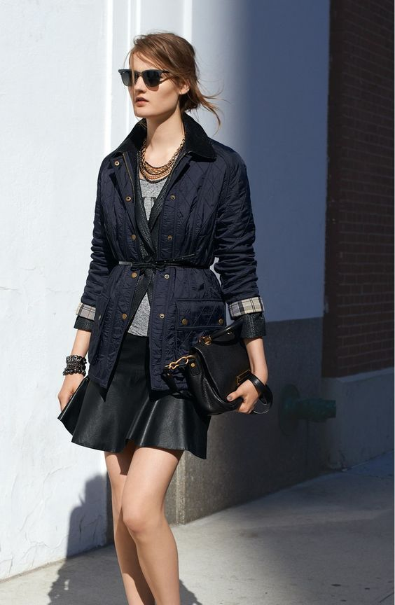 svart skater kjol mix sportig elegant