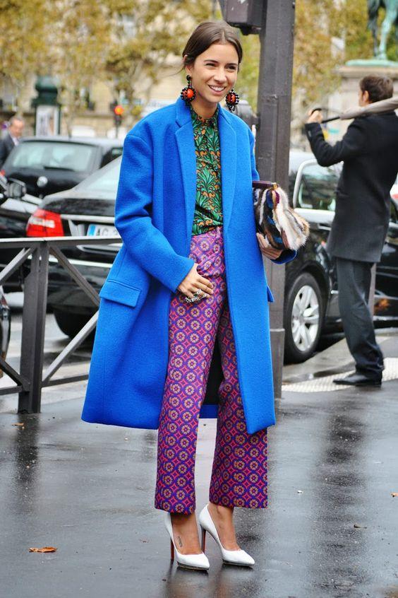 lila byxor pyjamasstil