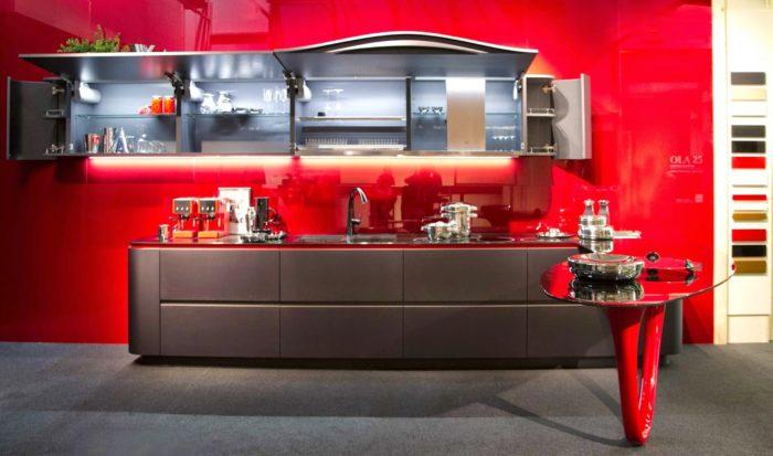 Ferrari-köket med dynamisk design - DigsDi