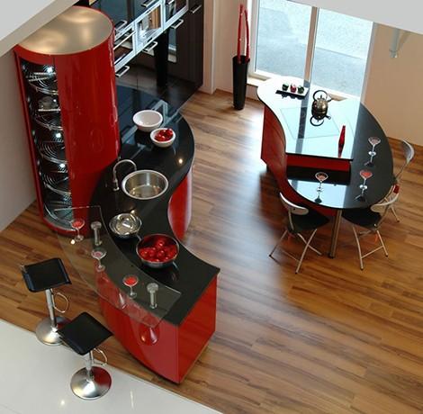 Luxury Kitchen Designs - Ferrari-kök