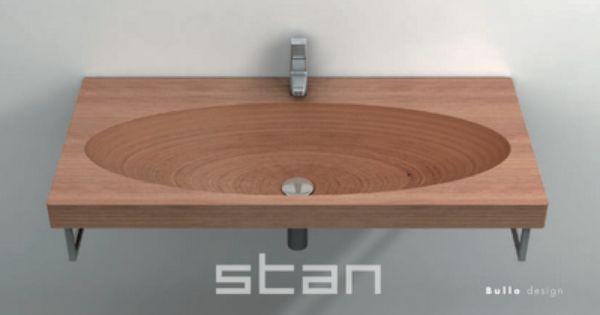 If It's Hip, It's Here: Modern Teak Tubs & Sinks From Plavisdesign.