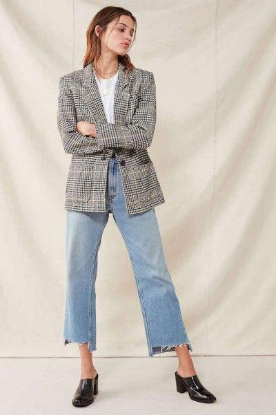 vit t-shirt mamma jeans