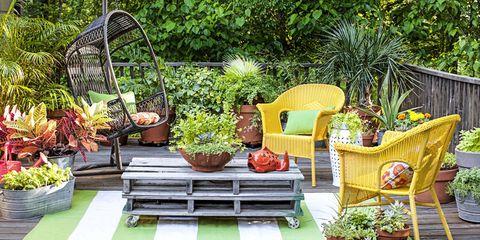 40+ små trädgårdsidéer - liten trädgårdsdesign
