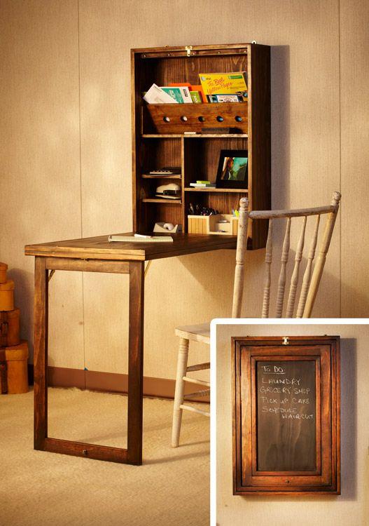 Murphy Desk Plans PDF Träbearbetning    DIY möbler, heminredning.