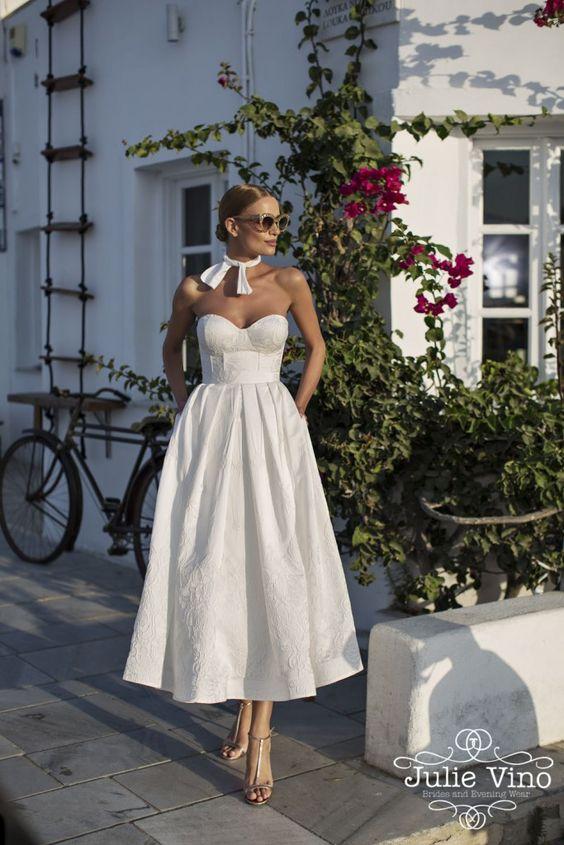 Brudste-längdklänning