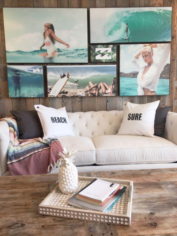 25 idéer för att lägga till stranden i stort i ditt hem    Beach House inredning.