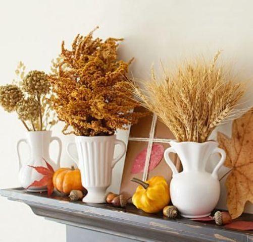 45 Uppvärmning och mysiga vete dekorationer för hösten - DigsDi