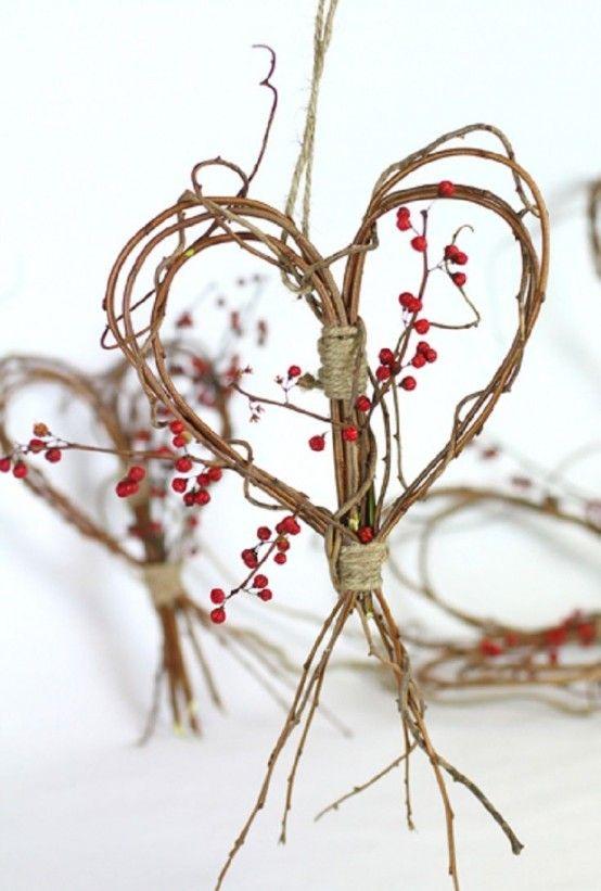 Touches of Nature: 35 Cute Twig Fall Décor Ideas    Kvisthantverk.