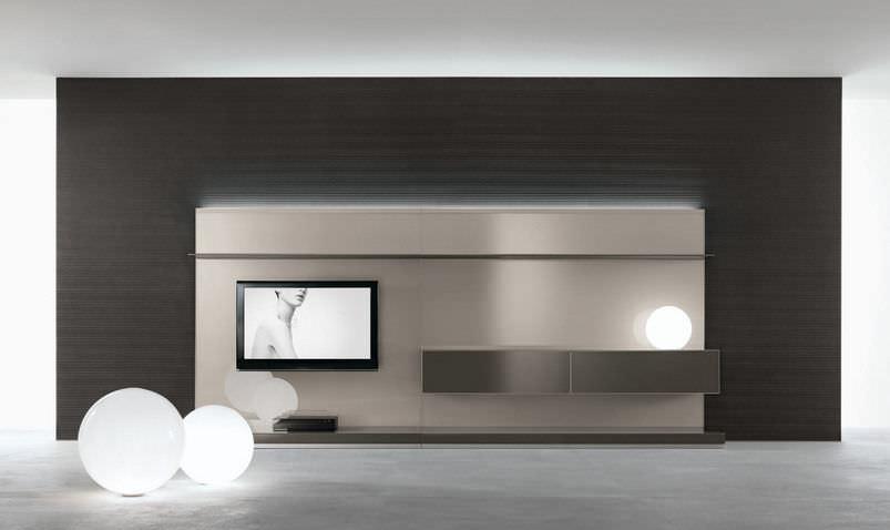 Samtida TV-väggenhet - ABACUS LIVING - RIMADESIO - gla