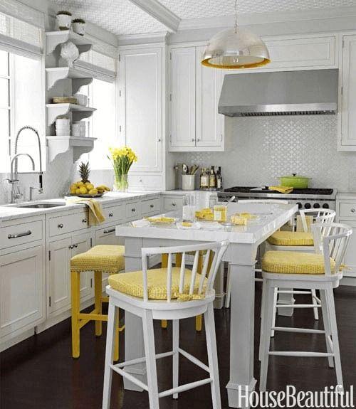 Hur man gör senapsgult i ditt lilla köksdekor  Liten.