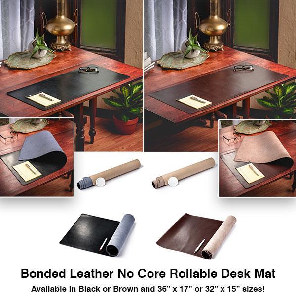 NY PRODUKTFRISLÄPPNING: Bonded Leather No Core Rollable Desk Mat.