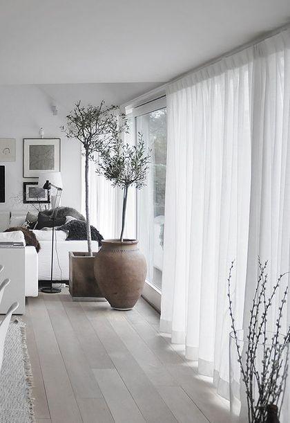 8 coola tips för att visuellt utvidga ett litet utrymme    Vardagsrum modernt.
