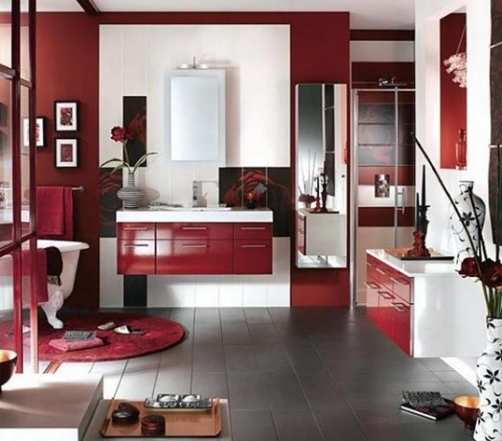 Idéer att använda Marsala på din badrumsdekor  Inspiration och.