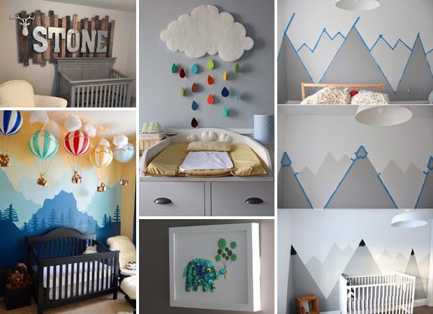 17 Idéer för att dekorera barnkammare som är värda att stjäla - Stolt hem Dec.