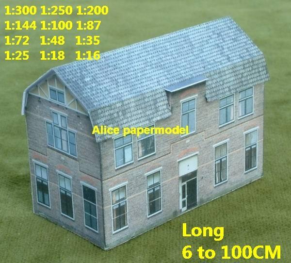 bostad bostadsby landsbygd hus villa WWII ruin.
