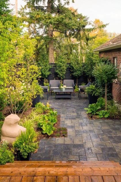 Perfekt design för uteplatsläggare |  Stora trädgårdslandskap.