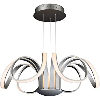 Amazon.com: VONN VMC32420AL LED-ljuskrona Capella Collection.