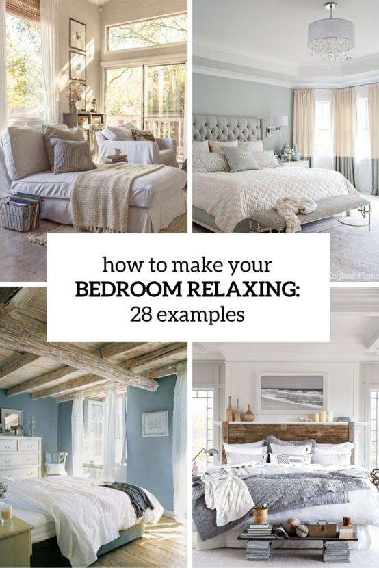 Hur du gör ditt sovrum avslappnande 7 tips och exempel - DigsDigs.