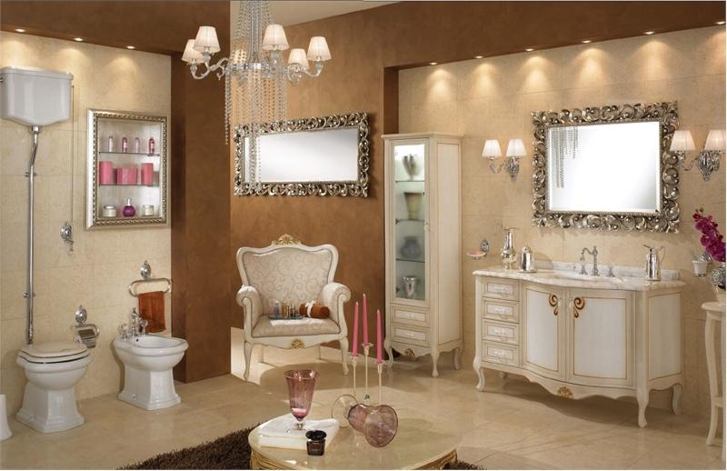 Lyxiga klassiska badrumsmöbler från Lineatre - DigsDi