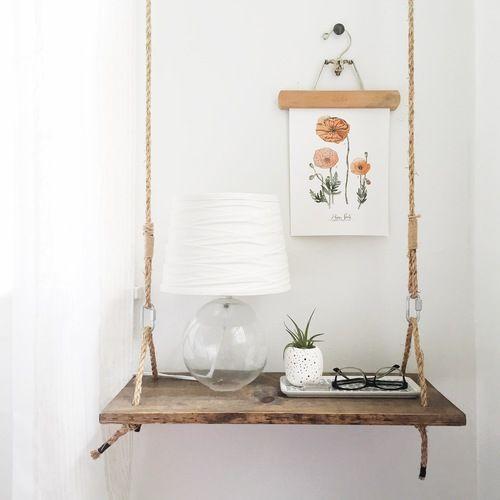 24 hängande nattduksbord för att spara golvutrymme - DigsDi