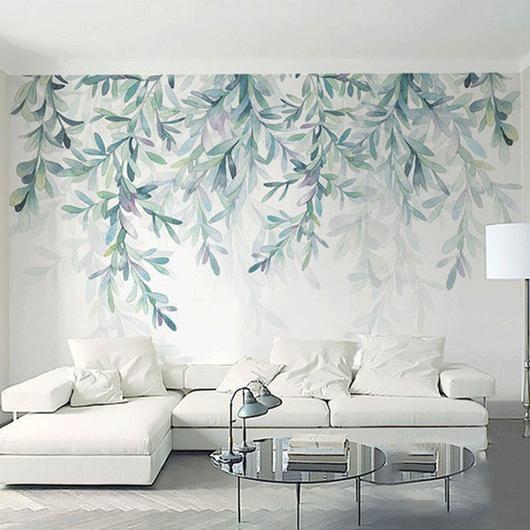 Naturdekor, Väggdekor, Forest Fresco Väggmålning Tapeter (m².