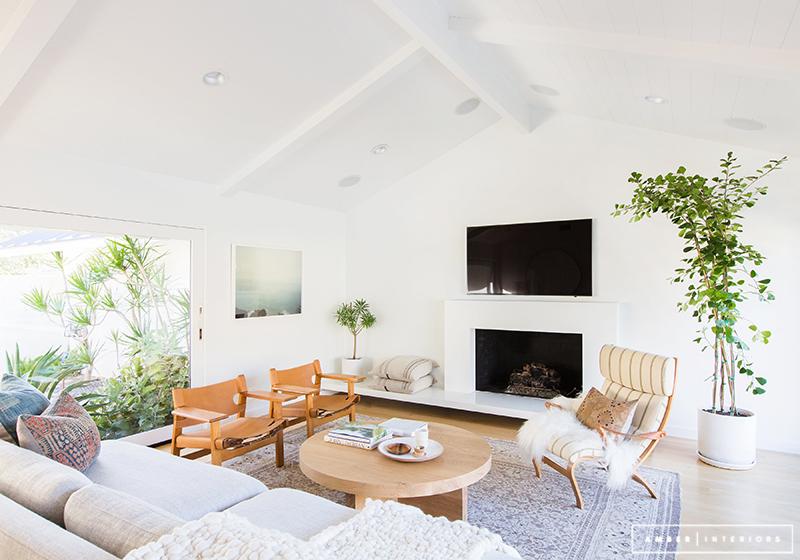Ett minimalistiskt hem från 1900-talet