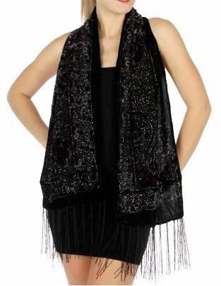 svart halsduk med mini tankklänning