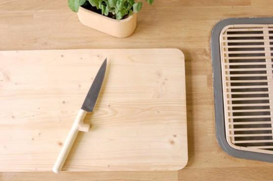 Heminredningsprojekt: Minimalistisk köksarbetsstation med.