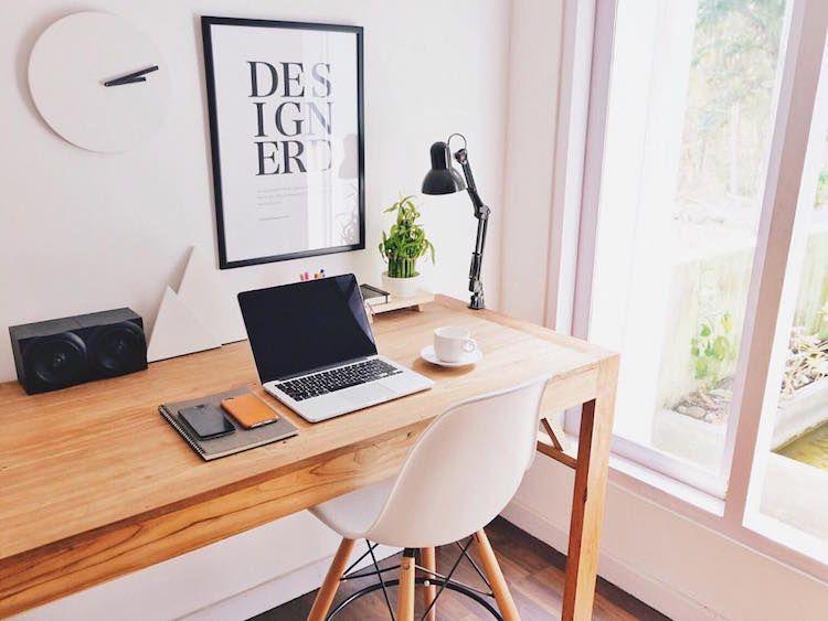 42 vackra arbetsstationer designade för kreativitet    Skrivbord.