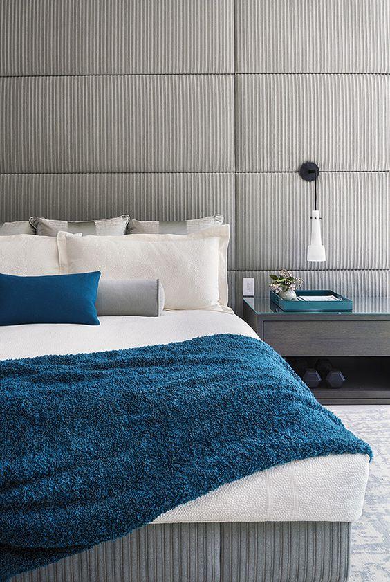 25 enkla sätt att göra ett grått sovrum coolt - DigsDi