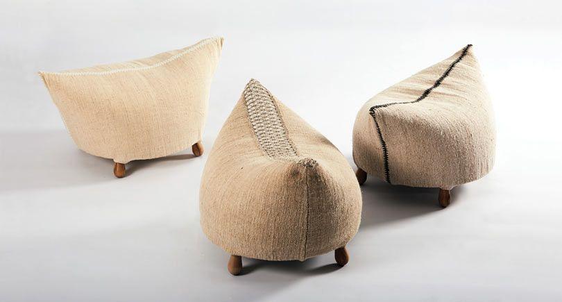 Möbler inspirerade av traditionella rumänska och moldoviska.