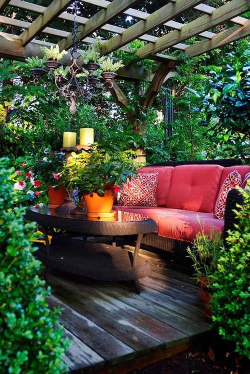 17 Beauty Bohemian Patio Designs - Top Easy Decor Project för.