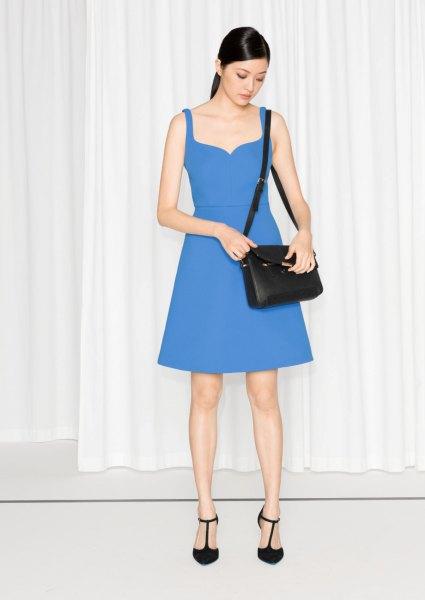 blå älsklingsklänning
