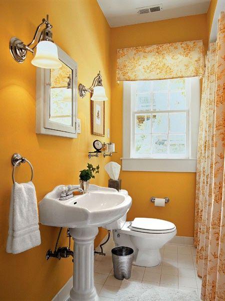 50 coola orange designdesigner för badrum    Badrumsdesign liten.